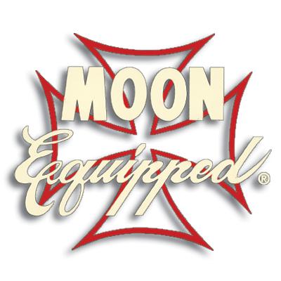 Moon Equipped Eisernes Kreuz in rot